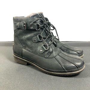 Ugg Cecile waterproof boots.